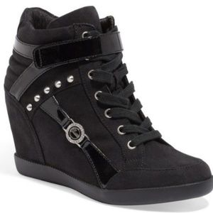 GUESS Stars Sneaker Wedges